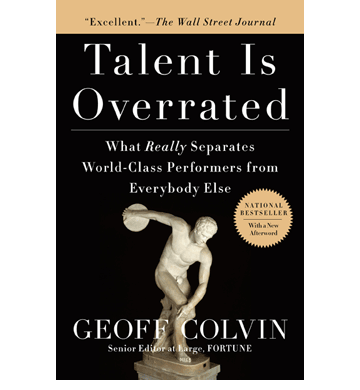 Talent-Is-Overrated